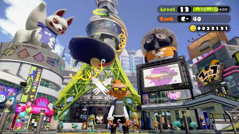 Splatoon - скриншот к игре