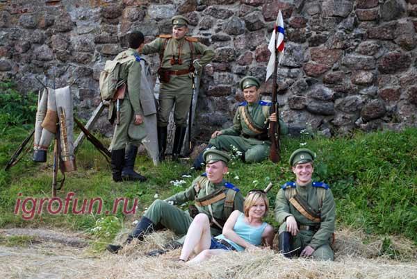 Ролевые игры, крепость Кронштадта