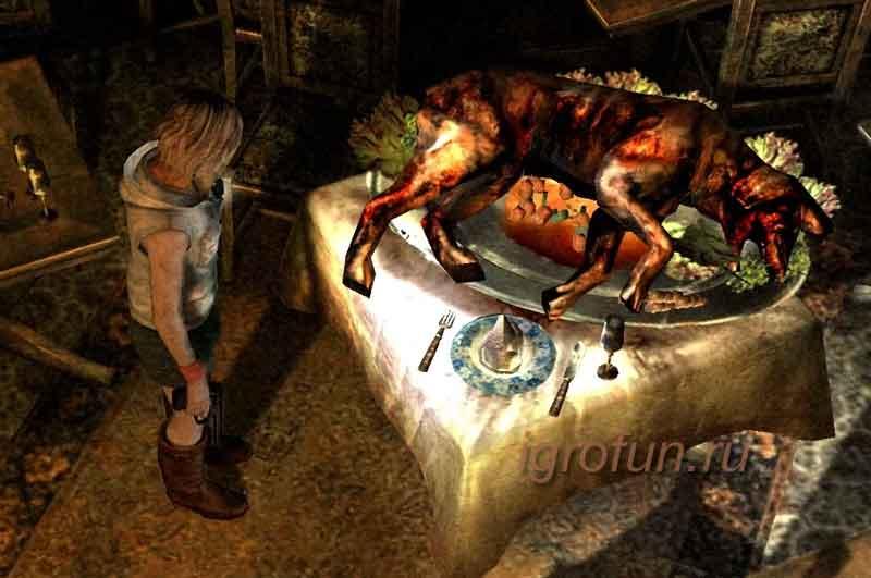 Silent Hill - скриншот к хоррор игре
