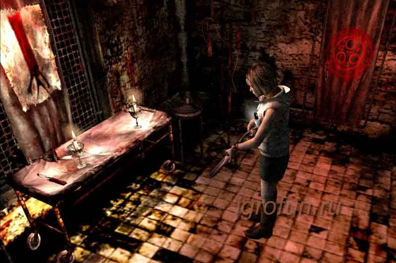 Компьютерная игра жанра хоррор Silent Hill