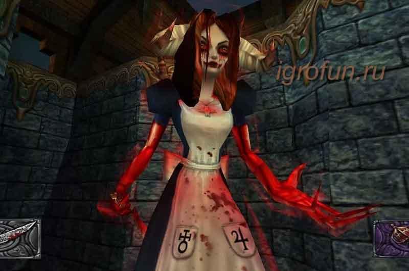 Компьютерная игра жанра хоррор American McGee's Alice