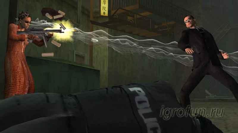 Enter the Matrix — скриншот к игре