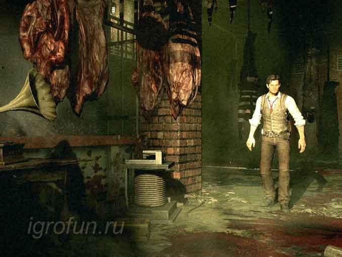 The Evil Within - лучшие игры с жутким сюжетом и графикой