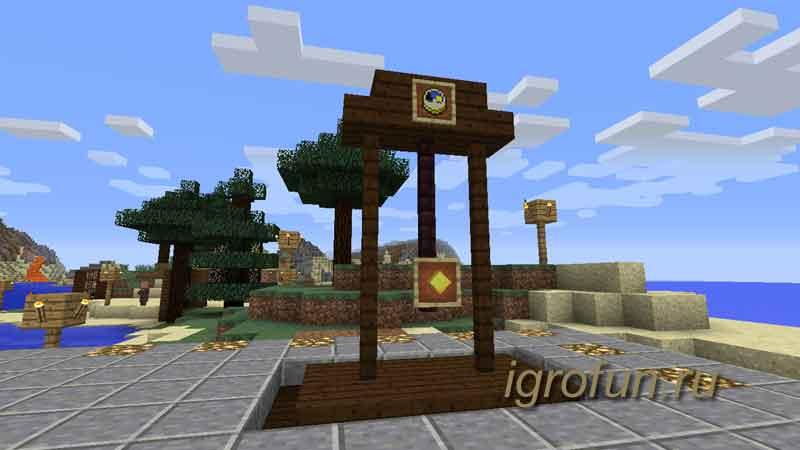 Minecraft: делаем декоративные часы с маятником