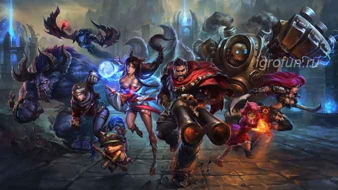 League of Legends - скриншот к игре