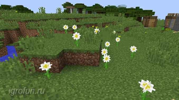 Растения в Майнкраст - применение цветов