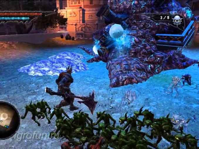 Последний босс компьютерной игры Overlord 2 - Солярий