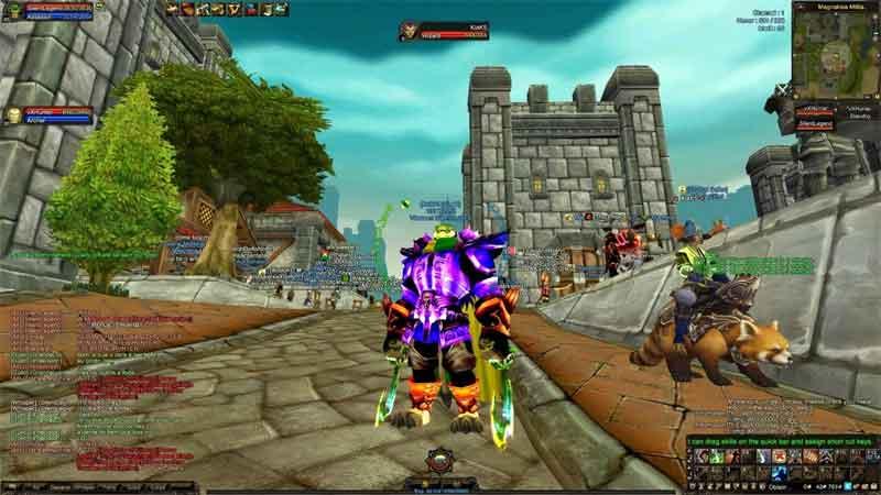 4Story — скриншот к компьютерной игре
