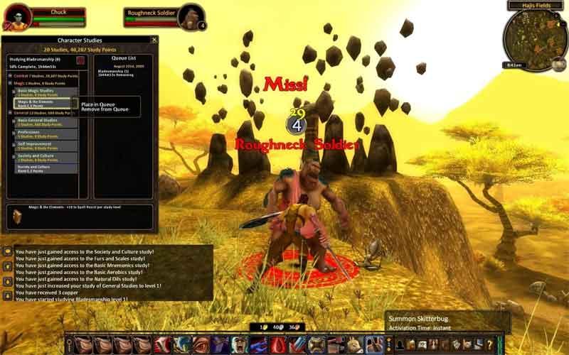 Alganon - скриншот к игре, похожей на WoW